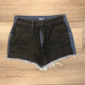 Urban outfitters BDG high rise denim shorts